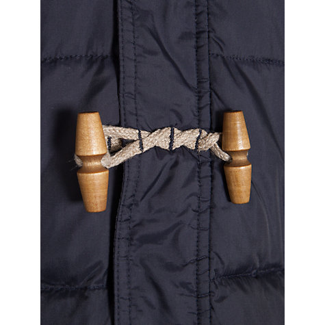 Buy Barbour Boys' Skipsea Quilted Jacket, Navy Online at johnlewis.com