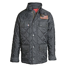 Buy Barbour Boys' Crown Quilted Jacket, Black Online at johnlewis.com