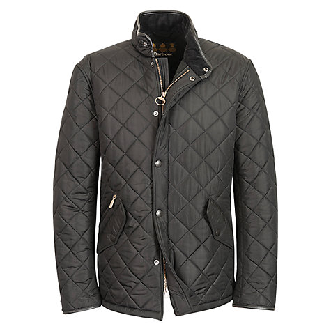 Buy Barbour Boys' Powell Jacket, Black Online at johnlewis.com