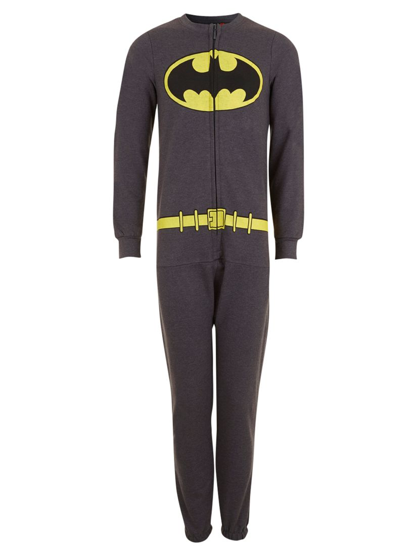 Batman Onesie, Dark Grey