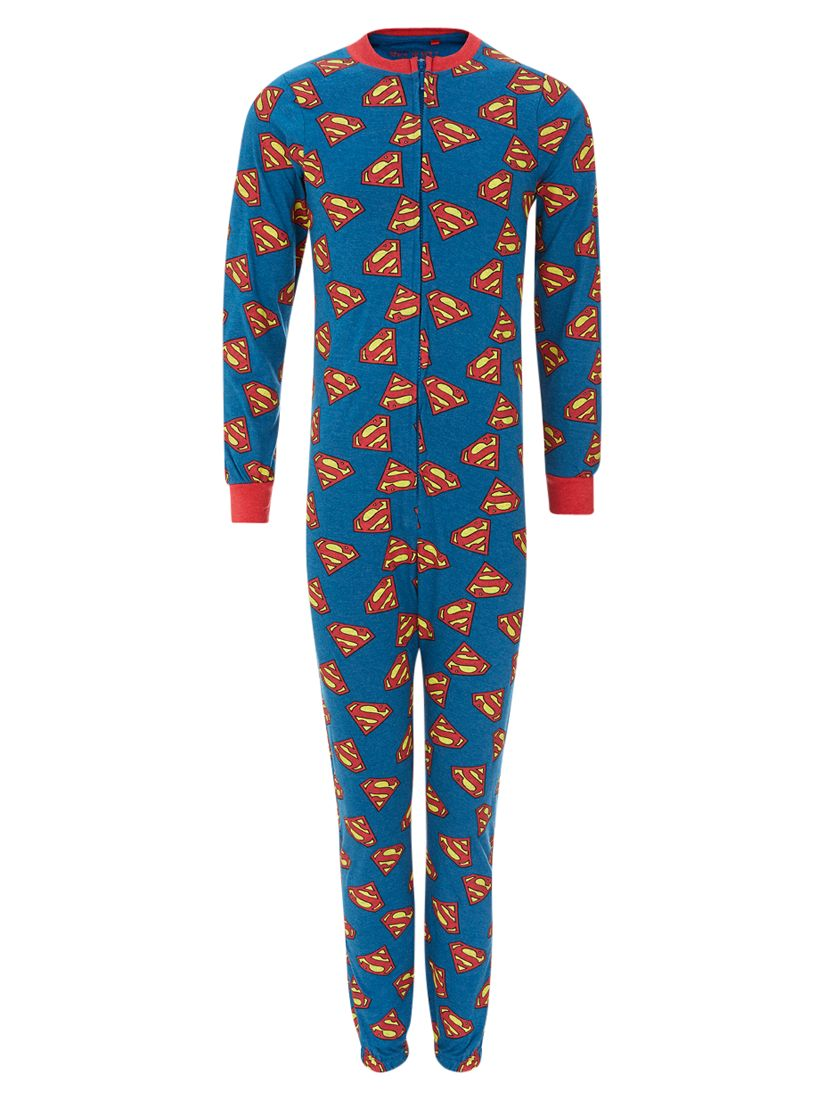Superman Onesie, Blue/Red