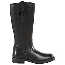 Buy Geox Sofiaq Boots, Black Online at johnlewis.com
