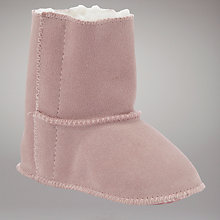 Buy John Lewis Suede Booties, Pink Online at johnlewis.com
