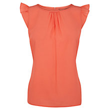 Buy Coast Donatella Top, Coral Online at johnlewis.com