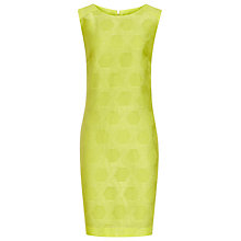 Buy Reiss Jacquard Dress, Citrus Online at johnlewis.com