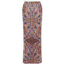 Buy Warehouse Paisley Maxi Skirt, Multi Online at johnlewis.com