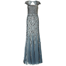 Buy Adrianna Papell Beaded Dress, Slate Online at johnlewis.com