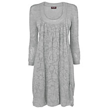 Buy Phase Eight Wren Pointelle Tunic Dress, Grey Online at johnlewis.com