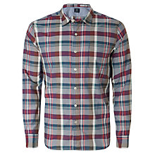 Buy Replay Large Check Long Sleeve Shirt Online at johnlewis.com