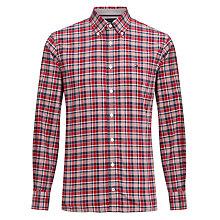 Buy Tommy Hilfiger Keydan Check Shirt, Red/Blue Online at johnlewis.com