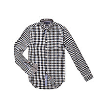 Buy Tommy Hilfiger Brend Check Shirt, Blue Online at johnlewis.com