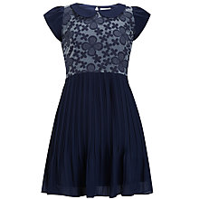 Buy Yumi Girl Cover Dress, Navy Online at johnlewis.com