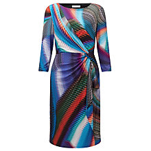 Buy COLLECTION by John Lewis Whitney Kaleidoscope Wrap Dress, Multi Online at johnlewis.com