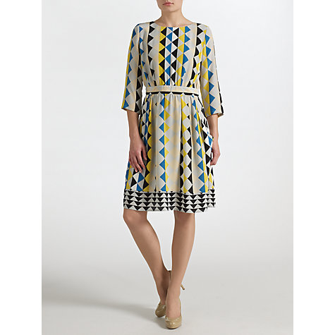 Buy COLLECTION by John Lewis Anika Diamond Print Dress, Multi Online at johnlewis.com