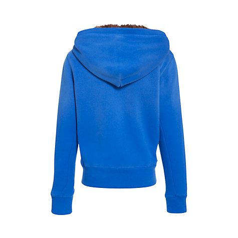 Buy Animal Boys' Solves Zip Front Fleece Lined Hoodie, Blue Online at johnlewis.com
