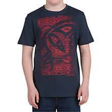 Buy Animal Boys' Heard Graphic T-Shirt, Indigo Online at johnlewis.com