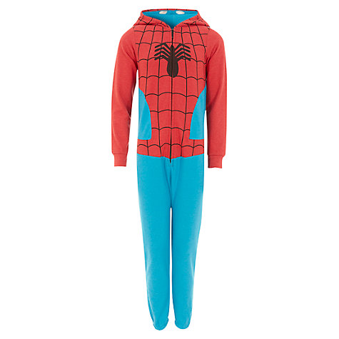 Buy Spider-Man Onesie, Blue/Red Online at johnlewis.com