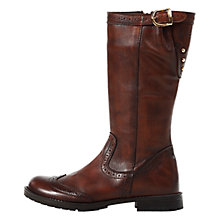 Buy Geox Charlyn Boots, Brown Online at johnlewis.com