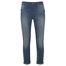 Buy Mint Velvet Vintage Wash Cropped Jeans, Blue Online at johnlewis.com