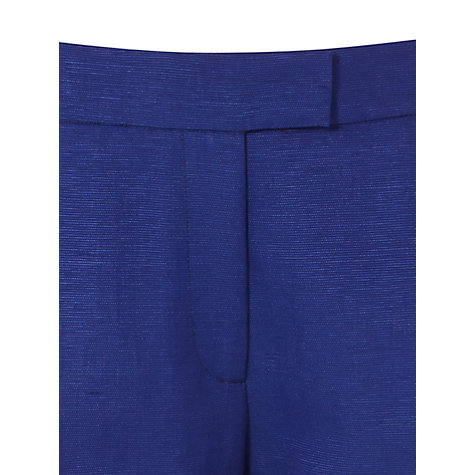 Buy Hobbs Invitation Precious Trousers, China Blue Online at johnlewis.com