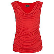 Buy Phase Eight Ruched Jersey Top, Poppy Online at johnlewis.com