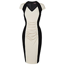 Buy Phase Eight Meredith Dress, Black/Cashmere Online at johnlewis.com