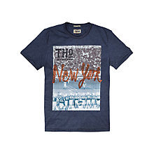 Buy Hilfiger Denim Foto Crew Neck T-Shirt Online at johnlewis.com