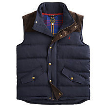 Buy Joules Burbank Showerproof Gilet Online at johnlewis.com