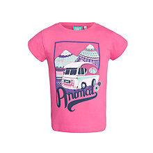 Buy Animal Girls' Addor T-Shirt, Pink Online at johnlewis.com