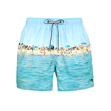 Buy Ted Baker Pugliazz Holiday Snap Swim Shorts Online at johnlewis.com