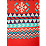 Buy Animal Girl's Fair Isle Knitted Dress, Red Online at johnlewis.com