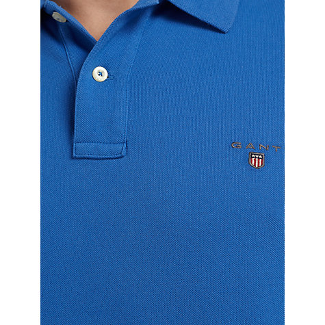 Buy Gant Solid Pique Polo Shirt Online at johnlewis.com