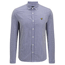Buy Lyle & Scott Vintage Gingham Long Sleeve Shirt Online at johnlewis.com