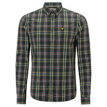Buy Lyle & Scott Vintage Slim Fit Check Shirt Online at johnlewis.com