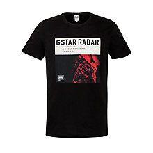 Buy G-Star Raw Radar Graphic Print T-Shirt Online at johnlewis.com