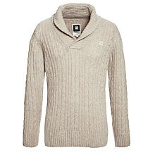 Buy G-Star Raw Nimrod Shawl Neck Jumper Online at johnlewis.com