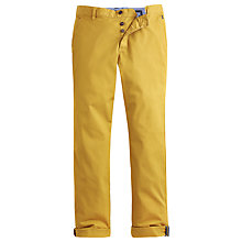 Buy Joules Stretton Stretch Chinos, Mustard Online at johnlewis.com