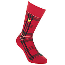 Buy Lyle & Scott Tartan Socks Online at johnlewis.com
