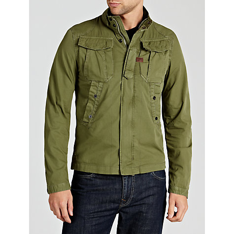Buy G-Star Raw Zero Long Sleeve Overshirt Online at johnlewis.com