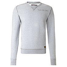 Buy G-Star Raw Furman Crew Neck Jumper, Grey Heather Online at johnlewis.com