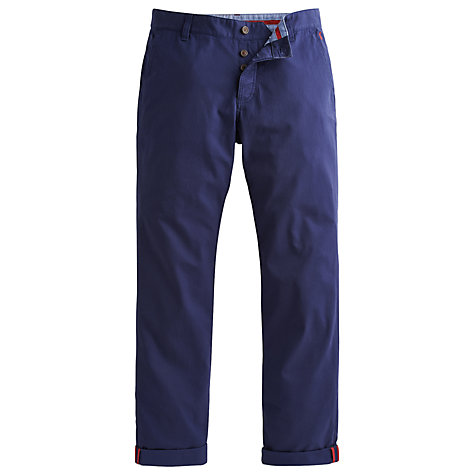 Buy Joules Stretton Stretch Chinos, Navy Online at johnlewis.com
