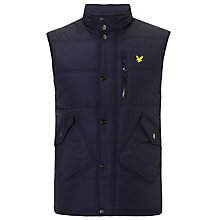 Buy Lyle & Scott Fair Isle Gilet, Navy Online at johnlewis.com