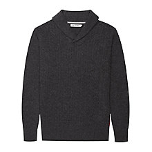 Buy Ben Sherman Shawl Collar Lambswool Jumper Online at johnlewis.com