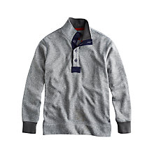 Buy Joules Earlston Button Neck Sweater Online at johnlewis.com