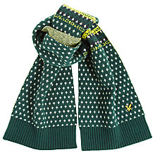 Buy Lyle & Scott Woven Lambswool Scarf Online at johnlewis.com