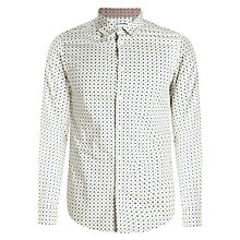 Buy Ben Sherman Geo Print Long Sleeve Shirt Online at johnlewis.com