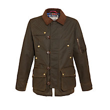 Buy Joules Landsdale Wax Jacket Online at johnlewis.com