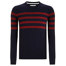 Buy Ben Sherman Lambswool Stripe Jumper Online at johnlewis.com