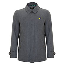 Buy Lyle & Scott Wool Blend Tartan Lined Coat Online at johnlewis.com