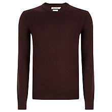 Buy Ben Sherman Merino Wool Crew Neck Jumper Online at johnlewis.com